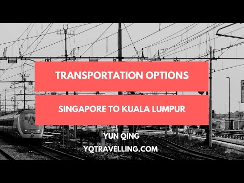 How to travel from Singapore to Kuala Lumpur now that the night train is no more