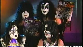 KISS Access Hollywood Feb 1999 (DRC Movie, Grammy Nomination & Merchandise)