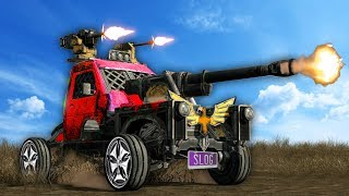INSANELY MODDED BATTLE TRUCK! (Crossout)