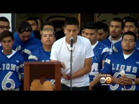 Vigil For El Monte Teen Killed In NorCal Bus Crash Draws Large Crowd