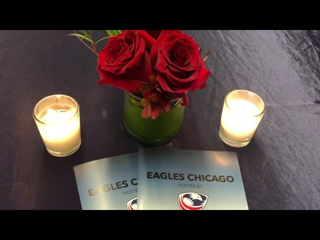 Eagles Chicago Reception