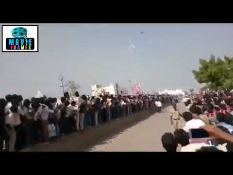 Pawan Kalyan Gets Mindblowing Response in ongole || Huge Fans Crowd Road Show || Janasena  Party