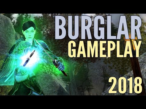 LOTRO Burglar Gameplay 2018 – Lord of the Rings Online Mordor