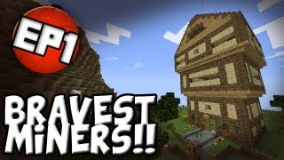 Minecraft BravestMiners Server Ep.1 - The House That Jack Built