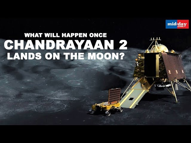 Chandrayaan-2 To Land On Moon On The 7th Of September