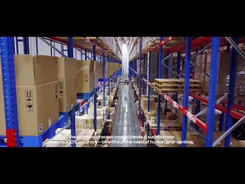 Bolloré Logistics and Infinium Robotics Roll out World's 1st Indoor Stock-Taking Drone System