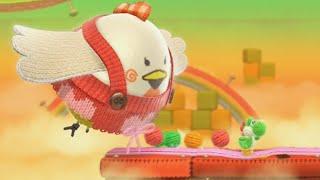 Yoshi's Woolly World 100% Walkthrough Part 3 - World 3