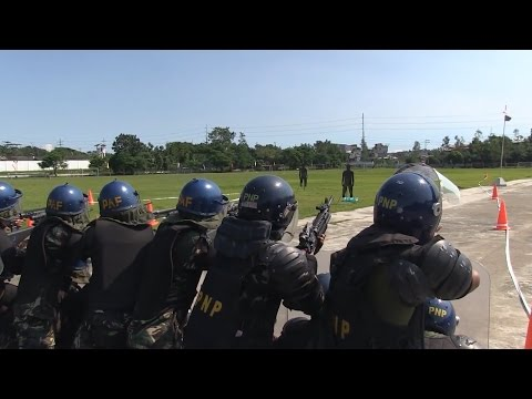 NOLES 2014 - Final Crowd Control  Demonstration by AFP  PNP and US Marines