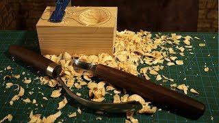 Iskarpela ve Kaşık Oyma Bıçağı Nasıl Kullanılır (Deve Boynu Iskarpela)