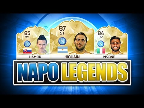TIF INSIGNE: THE ITALIAN MESSI AND NAPOLI LEGENDS! FIFA 16 ULTIMATE TEAM
