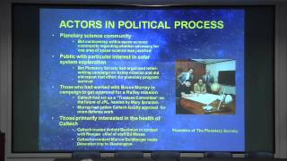Panel #1: Politics and Policy in the Conduct of Solar System Exploration - PART 2