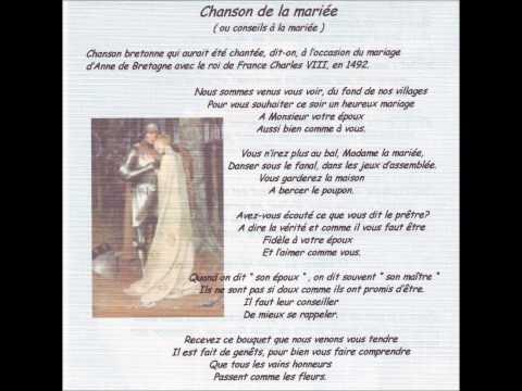 Chanson de la mariée