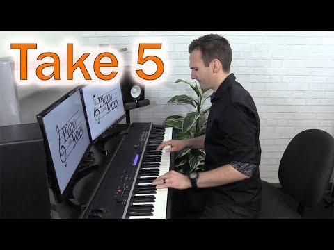 Take 5 - Jazz Piano by Jonny May