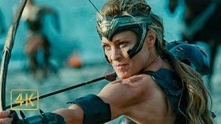 «Амазонки Сражаются Против Немецких Солдат» ™️Чудо женщина (2017)