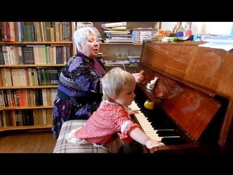 Музыкальная сказка. Ярослава. Возраст 1 год 8 месяцев.