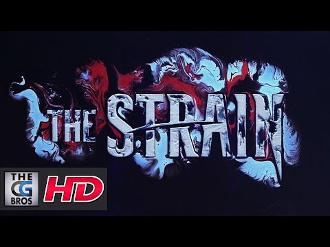 "CGI 3D Animated Idents: ""The Strain TV Series""  - by Onesize"