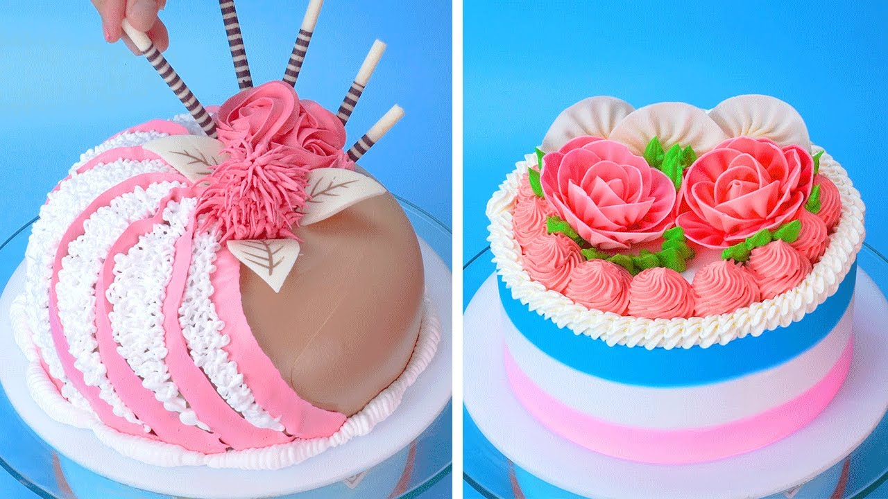 So Yummy Colorful Cake Decorating Tutorials For Everyone | Amazing Colorful Cake Recipes