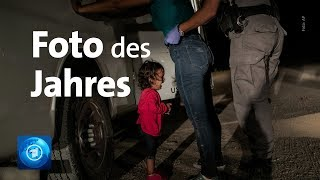 Award für Aufnahme von weinendem Mädchen an US-Grenze