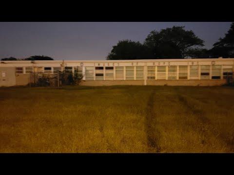 Abandoned Garnett Elementary School