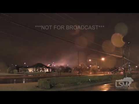 11-28-15 Oklahoma City, OK Power Flashes -- Slick Conditions