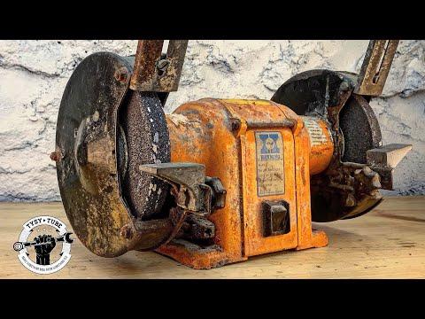 Broken Bench Grinder - Restoration
