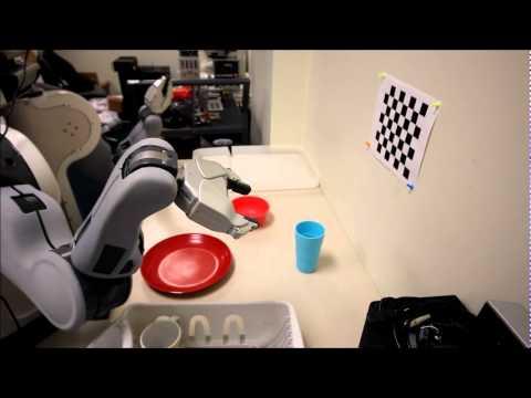 PR2 robot clears dinner table - Stanford University