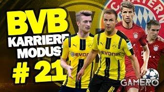 FIFA 17 KARRIEREMODUS BVB #21 ♕ HAMMER SPIEL Gegen FC BAYERN MÜNCHEN ♕ FIFA 17 Karrieremodus German