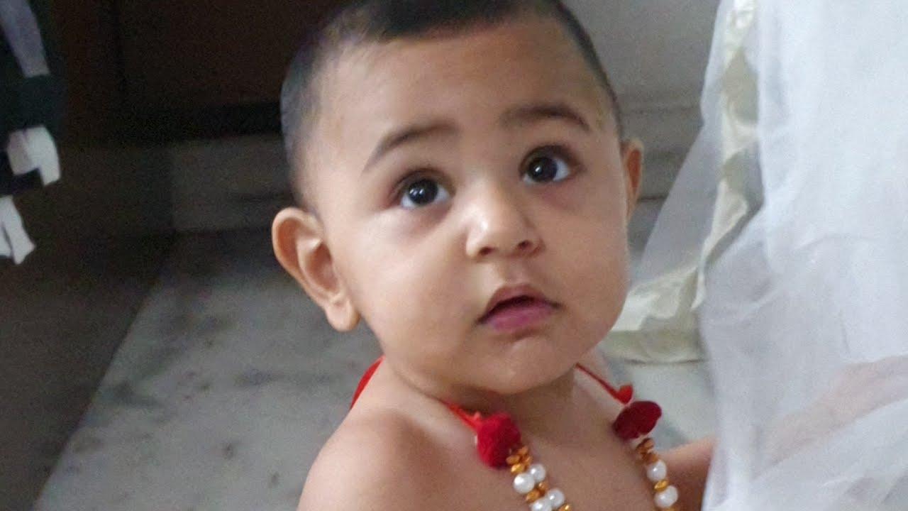 जन्माष्टमी स्पेशल मिले मेरे बेटे से meet my son Rudraansh