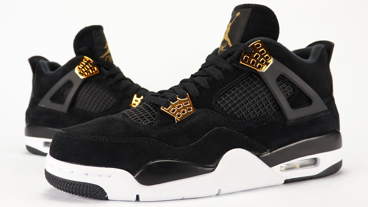 air jordan basketball shoes black and gold