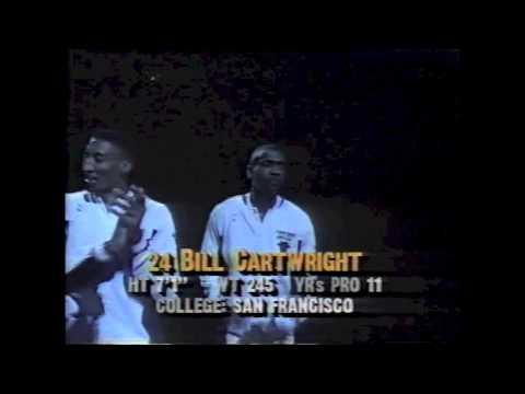 1991 : Chicago Bulls intro
