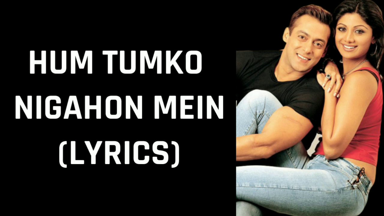 Hum Tumko Nigahon Mein (Lyrics) Garv-Pride & Honour | Udit Narayan, Shreya Ghoshal