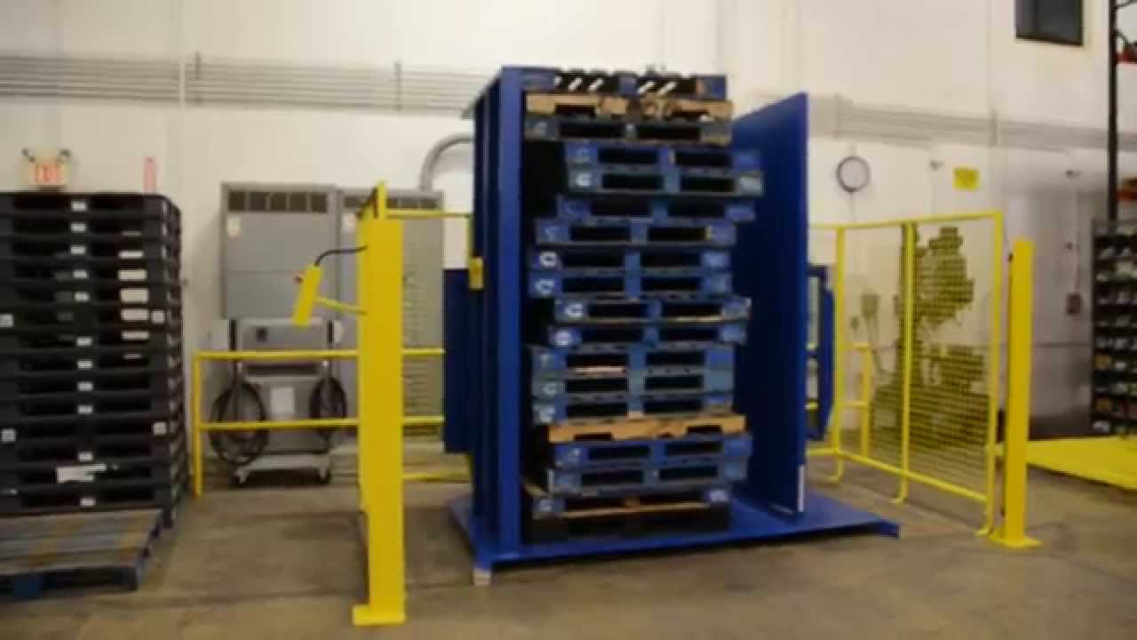 Pallet Straightener for CHEP Pallets Video