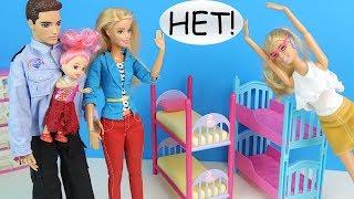 ПЛОХАЯ МАТЬ или Как Сабрину Из Семьи Забрали Мультик #Барби Куклы Игрушки Для девочек IkuklatV Школа