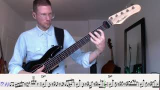 I made it out - John P. Kee - Bass Transcription Alleva Coppolo LG5 Robert Schulenburg