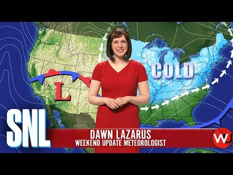 Aly - SNL Spoofs Winter Weather Reporting