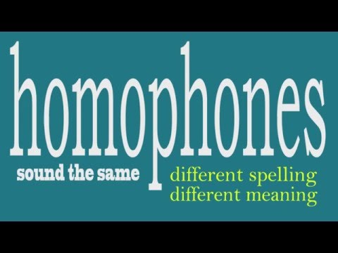Homophone Song: There, Their, They're