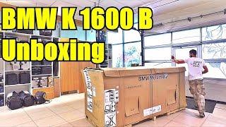 Новый мотоцикл BMW K1600B достаем из коробки. BMW K1600 Bagger Unboxing