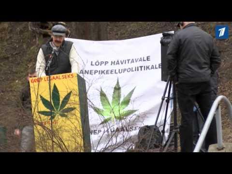В Тарту народ вышел на улицу ради легализации конопли