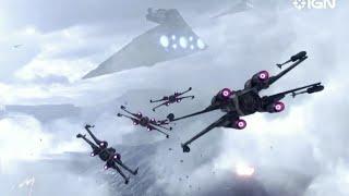 Star Wars Battlefront's Epic Space Combat Gameplay - Gamescom 2015