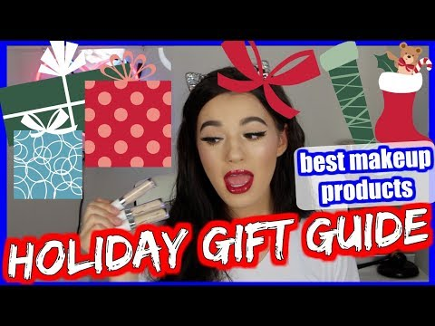 HOLIDAY GIFT GUIDE: Best Makeup Products! | Jordan Byers