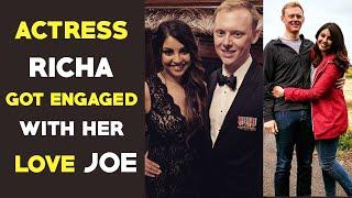 Actress Richa Gangopadyay got Engaged with Joe | Richa Joe | Gup Chup Masthi