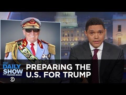 The Daily Show - How South Africa Could Prepare the U.S. for President Trump