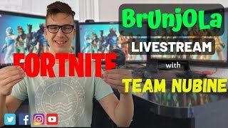 LIVE - FORTNITE BALKAN - 1000 SUBS STREAM - TURNIR 1000 V-BUCKS - SAC (BRUNJOLA_YT)