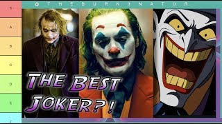 Joker Tier List - Who is the best?