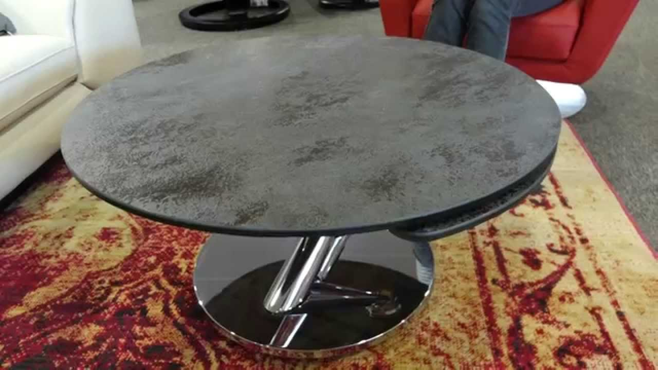 la table basse abra de naos ouvrante avec plateaux c ramique youtube. Black Bedroom Furniture Sets. Home Design Ideas