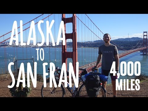 I Rode My Bicycle From ALASKA to SAN FRANCISCO (100 days/4,000 miles)