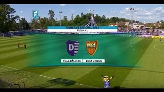 Villa Dálmine vs Boca Unidos full match