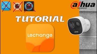 Instalar y configurar Lechange by Dahua - Tutorial