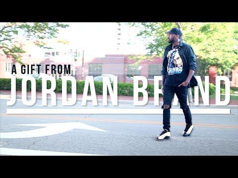 A SPECIAL GIFT FROM JORDAN BRAND | RioJaeNeiro