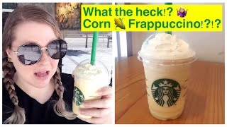 Starbucks Corn Frappuccino | Wtf?! Koreanized Drinks